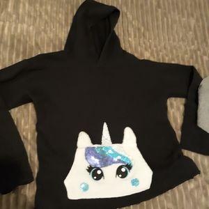 Girls Unicorn Sweater Size 10